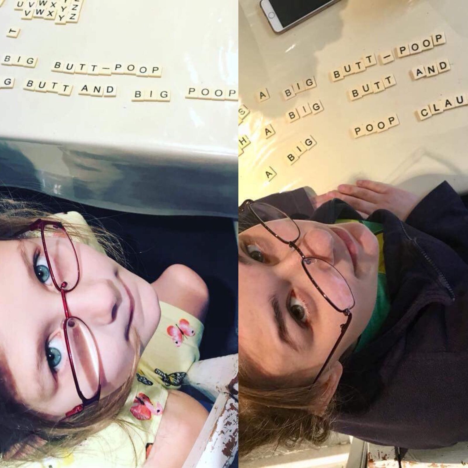 Anna and Cait Bananagrams Tiles