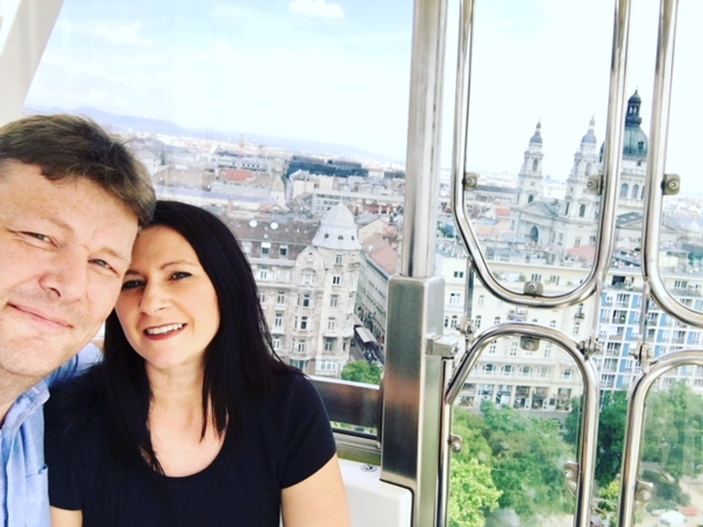 Mike and Tania Sullivan budapest May 2018