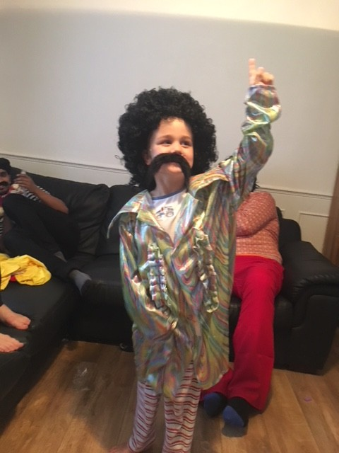 Tim Eurovision fancy dress