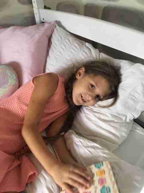 Anna in Princess room