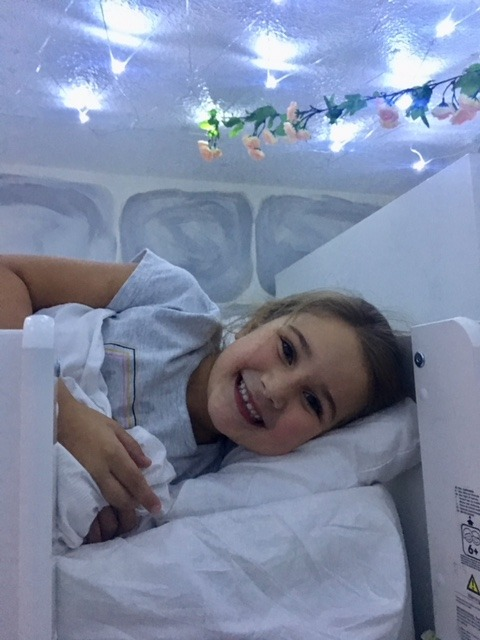 Isobel fairy lights princess bedroom mia loft bed high sleeper