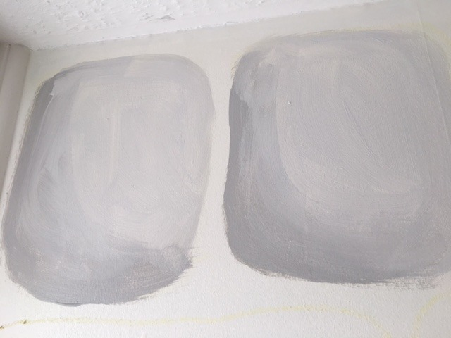 how to paint castle walls 3