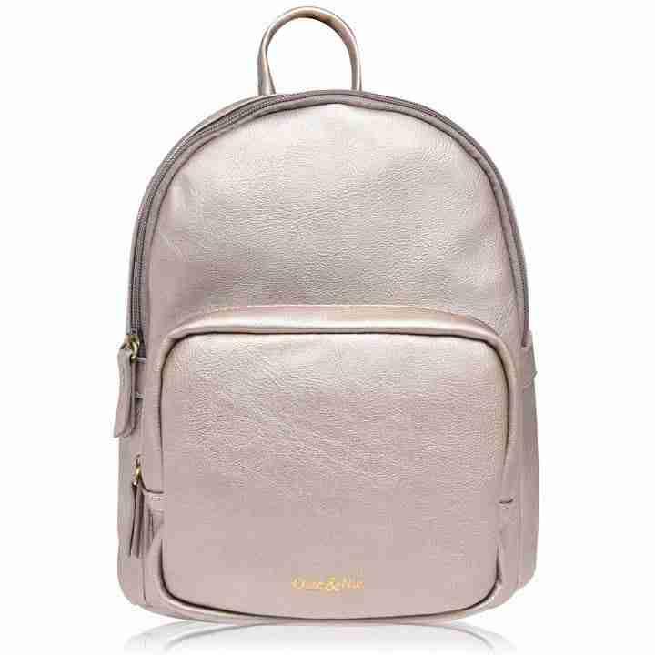 gold rucksack backpack bag